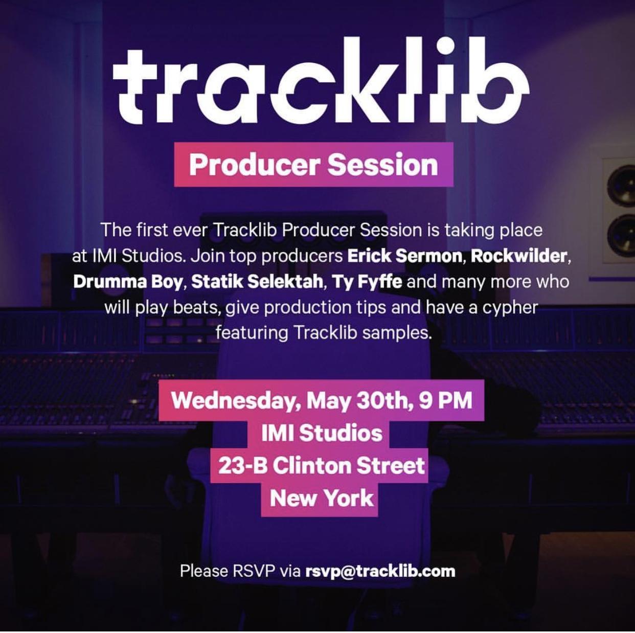 Tracklib Erick Sermon
